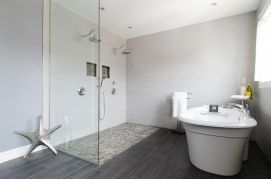 Contemporary Oasis Created: A Wet Bath For 2