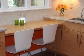 Featured On Houzz ....  Before & After:  A Striking Change