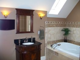 Welcoming Bathroom Reno