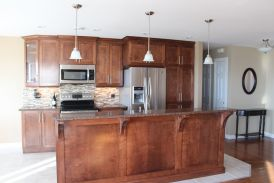 Kitchen Makeover that goes from Drab to Fab