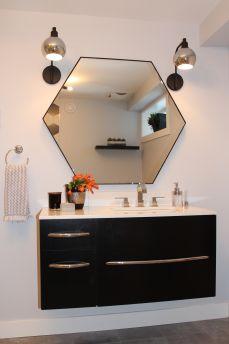 Modern Basement Bathroom