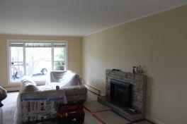 Livingroom/Dining Room Under Renovation.......before pics
