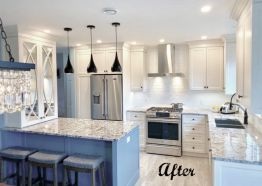 Before & After: A Modern Kitchen Reno