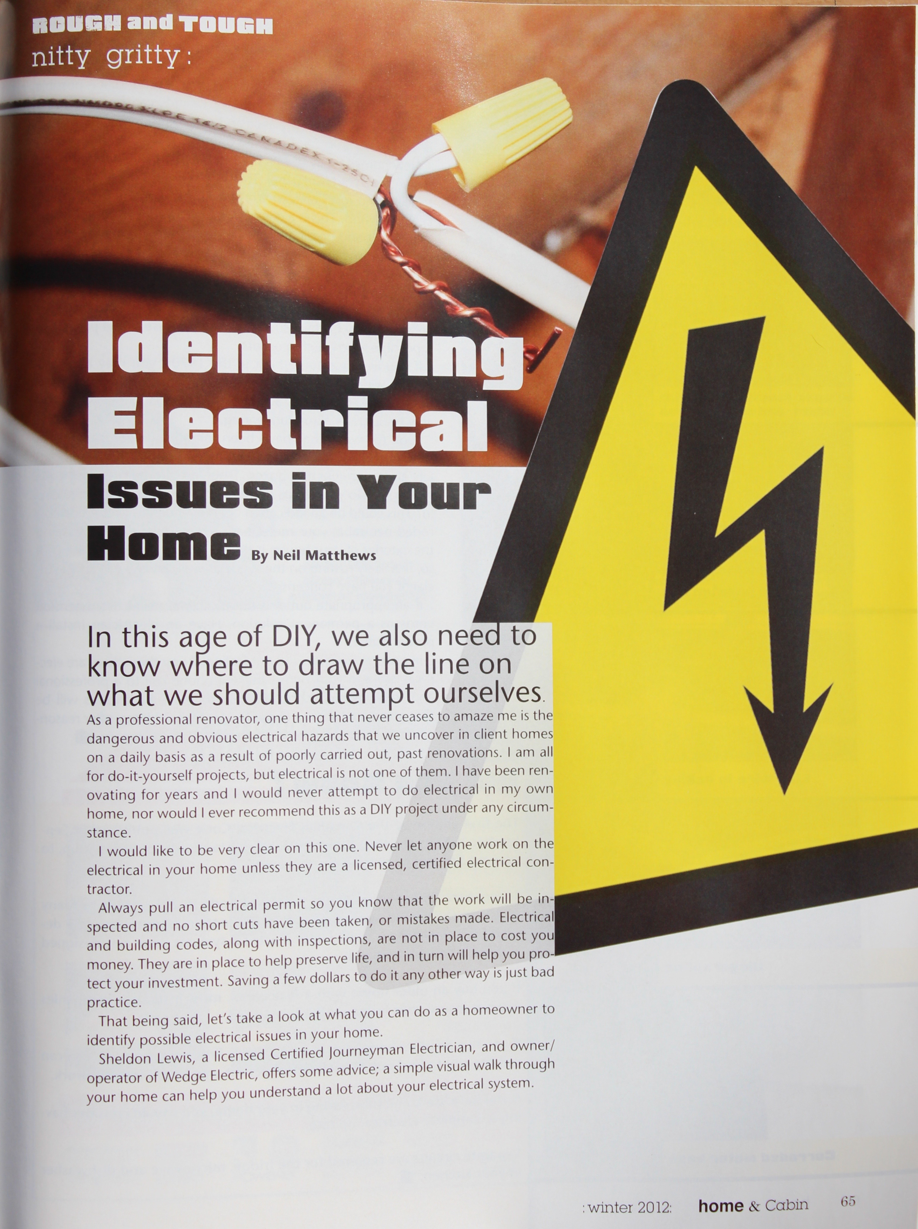 Identifying Electrical Issues In Your Home