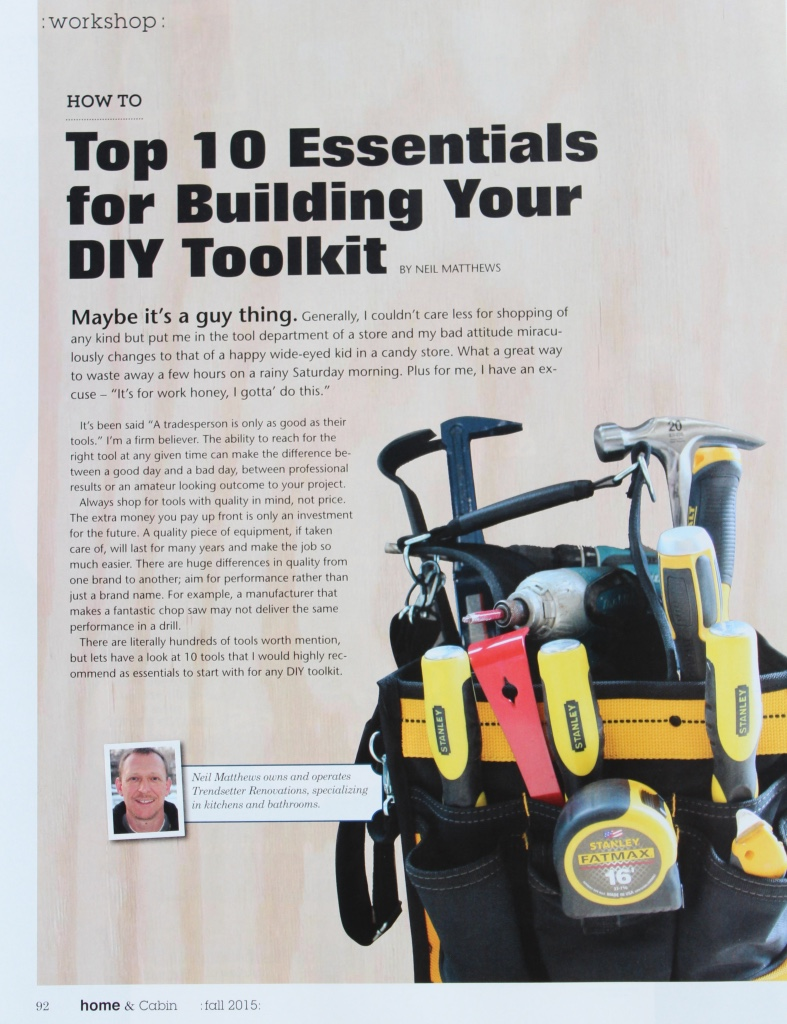 Top 10 Essentials For Building Your DIY Toolkit